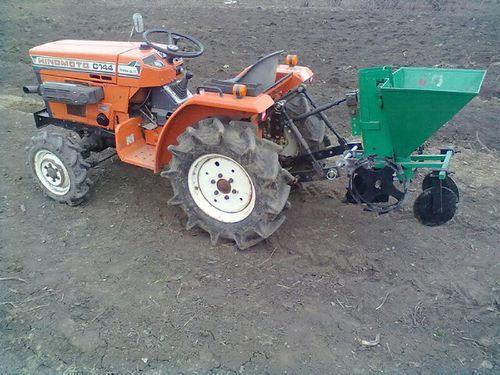 Картофелесажалки для трактора своими руками