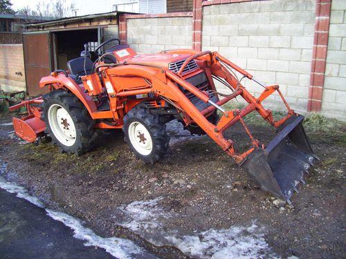 Выбираем японский трактор