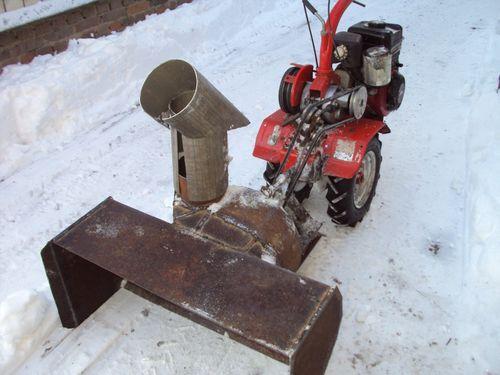 Чертежи снегоуборщик из бензопилы своими руками