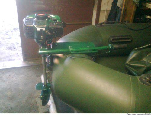 Мотор из бензокосы